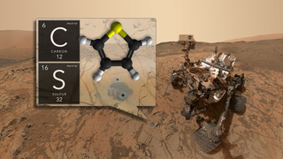 Link to Recent Story entitled: Ancient Organics Discovered on Mars - Broadcast Graphics