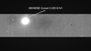 Link to Recent Story entitled: NASA's Planet-Hunting TESS Catches a Comet Before Starting Science