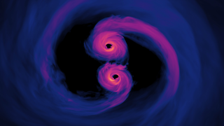 Link to Recent Story entitled: New Simulation Sheds Light on Spiraling Supermassive Black Holes
