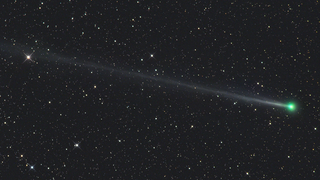 Link to Recent Story entitled: A Slowly Spinning Comet