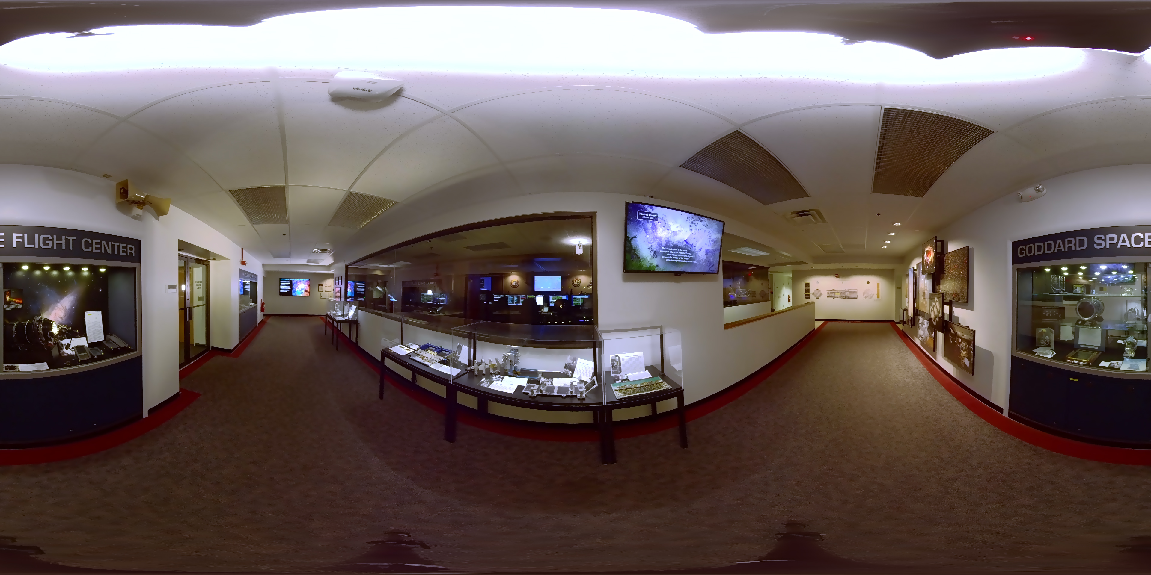 GMS: 360-Degree Virtual Tour of Hubble Mission Operations