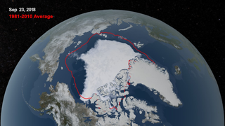 Link to Recent Story entitled: 2018 Arctic Sea Ice Ties for Sixth Lowest Minimum Extent on NASA Record