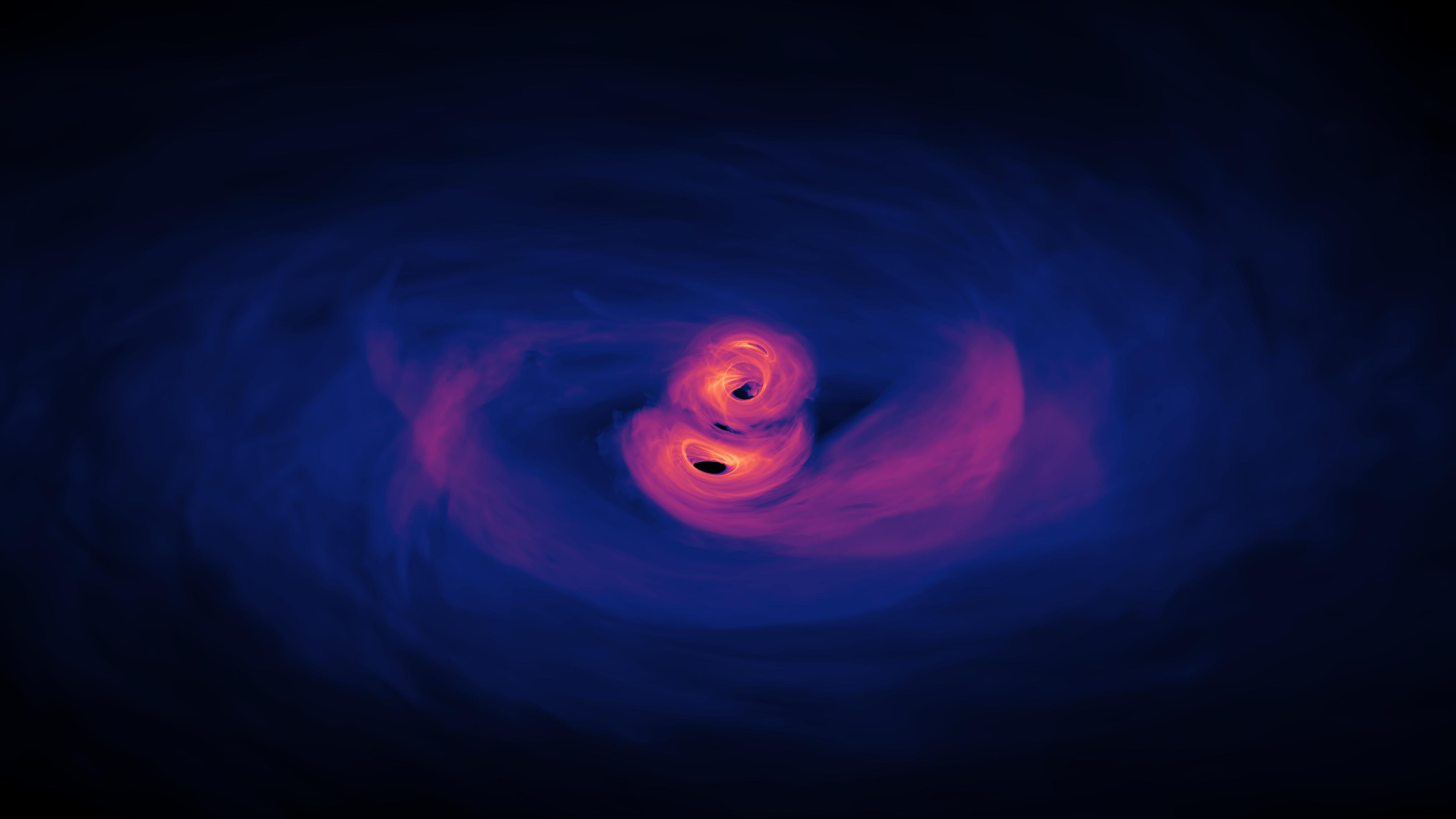 supermassive black hole video - HD3840×2160