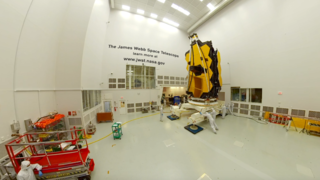Link to Recent Story entitled: James Webb Space Telescope in 360 at Johnson Space Center