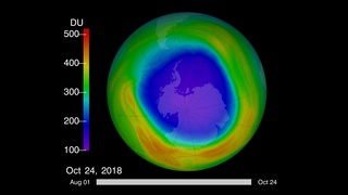 Link to Recent Story entitled: 2018 Ozone Hole Is a Reminder of What Almost Was
