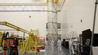 Link to Recent Story entitled: The James Webb Space Telescope's Spacecraft Element Tent Cover B-Roll