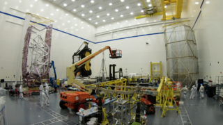 Link to Recent Story entitled: The James Webb Space Telescope's Spacecraft Element Tent Cover Time-Lapse B-Roll