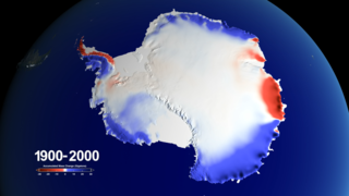 Link to Related Story entitled: Snow over Antarctica Buffered Sea Level Rise during Last Century
