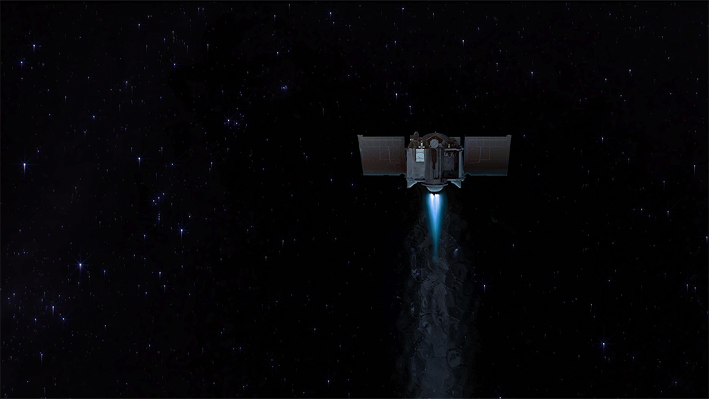 NASA Viz: Arrival at Bennu