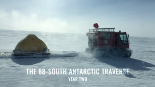 Link to Recent Story entitled: 88-South Antarctic Traverse: Year Two
