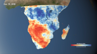 Link to Related Story entitled: Using NASA Data to Monitor Drought and Food Insecurity