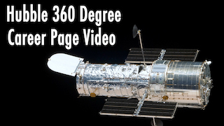 Link to Recent Story entitled: Hubble Career Page 360 Degree Video