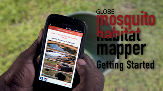 Link to Recent Story entitled: Getting Started: Mosquito Habitat Mapper Basic