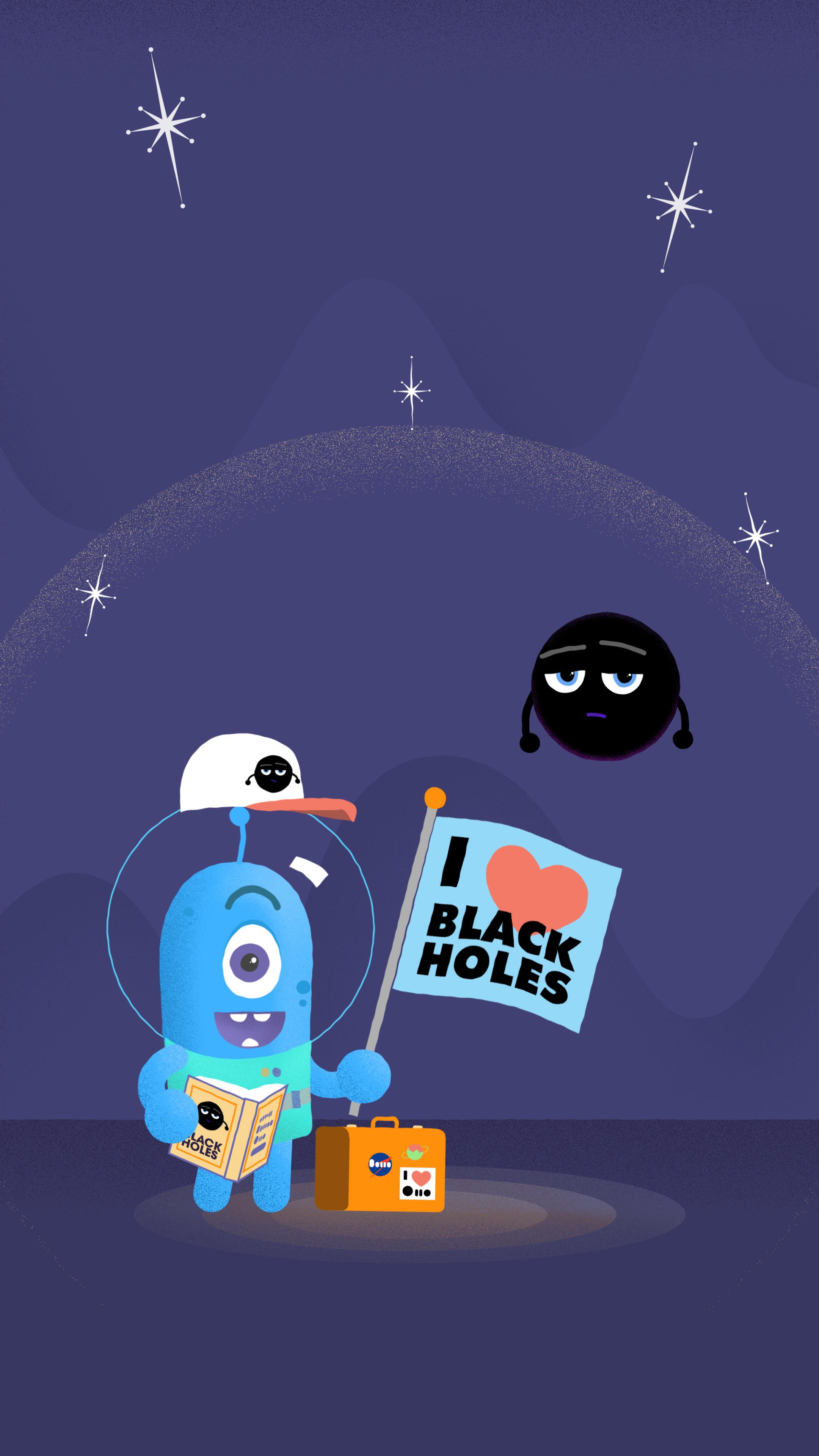 Gms Black Hole Safety Desktop Phone Wallpaper
