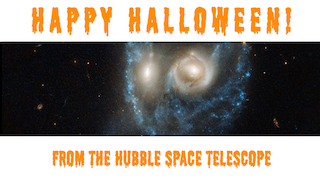 Link to Recent Story entitled: Hubble's Scary New Halloween Image