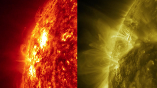 Link to Recent Story entitled: A New Kind of Explosion on the Sun