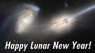 Link to Recent Story entitled: Happy Lunar New Year from Hubble