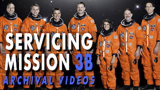 Link to Recent Story entitled: Hubble Archive - Servicing Mission 3B, STS-109