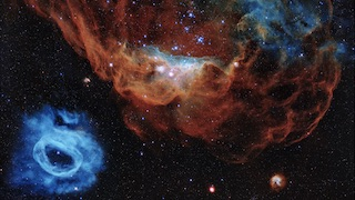 Link to Recent Story entitled: Hubble's 30th Anniversary Image