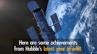 Link to Recent Story entitled: Hubble's 30th Year in Orbit