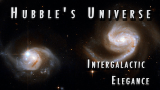 Link to Recent Story entitled: Hubble's Universe: Intergalactic Elegance