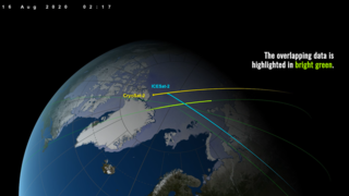 Link to Recent Story entitled: NASA Laser and ESA Radar Sync Up for Sea Ice