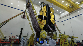 Link to Recent Story entitled: James Webb Space Telescope Sunshield Front UPS Stow Time-Lapses
