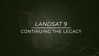 Link to Recent Story entitled: Landsat 9: Continuing the Legacy series