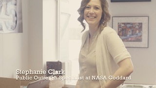 Link to Recent Story entitled: Stephanie Clark: Hubble's Public Outreach Specialist