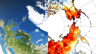 Link to Recent Story entitled: NASA Sees High Temperatures, Wildfires, and Annual Sea Ice Minimum Extent in Warming Arctic