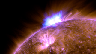 Link to Recent Story entitled: Solar Activity Continues to Rise with 'Anemone' Eruption