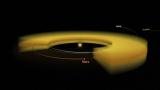 Link to Recent Story entitled: Juno Discovers Mars' Dust Storms Fill Solar System