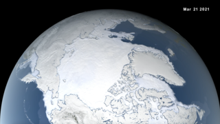 Link to Recent Story entitled: 2021 Arctic Sea Ice Maximum Extent Ranks Seventh-Lowest on Record