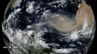 Link to Recent Story entitled: Warmer Ocean Temperatures May Decrease Saharan Dust Crossing the Atlantic