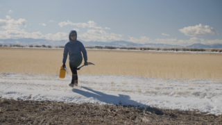 Link to Recent Story entitled: Snow Scientists in the Windswept Montana Prairie