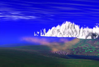 This animation illustrates how CALIPSO captures data to study the nature of the atmosphere.