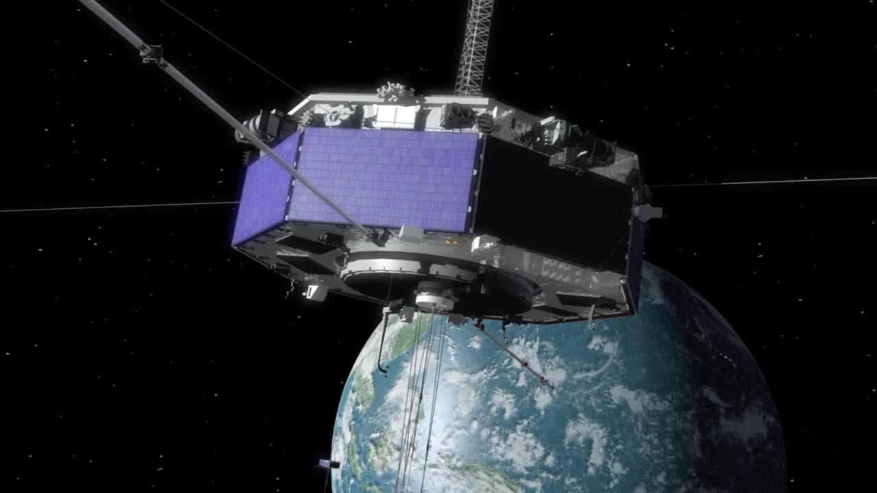 CILab: MMS Spacecraft Animation