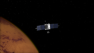 Link to Recent Story entitled: MAVEN Mars Orbital Insertion and Instrument Deploys