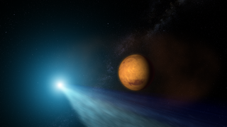 Link to Recent Story entitled: Comet Siding Spring and Mars