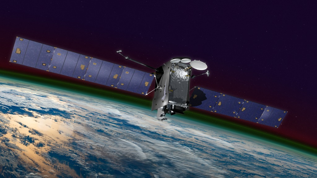 Animation depicting GOLD on the SES-14 satellite in transit to geostationary orbit. Credit: NASA GSFC/CIL/Chris Meaney