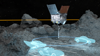 Link to Recent Story entitled: OSIRIS-REx Sampling Area to Scale: Animations