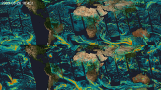 Link to Related Story entitled: MODIS Cloud Optical Thickness
