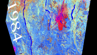 Link to Related Story entitled: Landsat: 25 Years of Land-Use Change near Portland, Oregon
