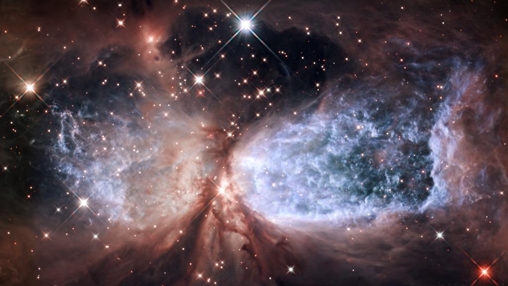 Hyperwall: Hubble Serves Up a Snow Angel