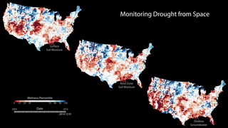 Link to Recent Story entitled: Measuring Soil Moisture from Space