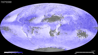Link to Recent Story entitled: Monthly Cloud Particle Radius (Aqua/MODIS)