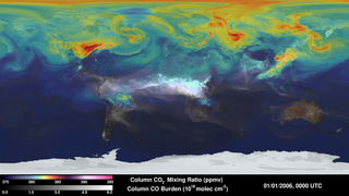 Link to Recent Story entitled: Simulated Atmospheric Carbon Concentrations