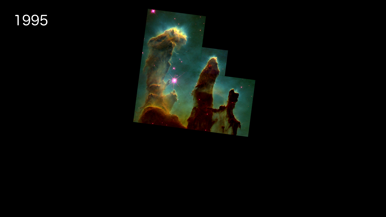 Hyperwall: 25 Years of Hubble