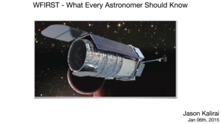 Link to Recent Story entitled: WFIRST—What Every Astronomer Should Know