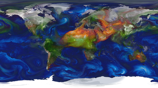 Link to Recent Story entitled: GEOS-5 Aerosols Simulation for SC 2014